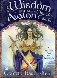 I love this deck so much. Wisdom of Avalon Oracle Cards.