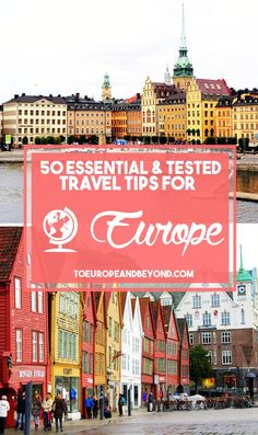 50 Random But Essential Europe Travel Tips Travel tips 2019 I may not know much, but what I do know is how to explore Europe efficiently. Here's everything I learned throughout years of frequent of travel to the Old Continent. European Travel Tips, Travel Tips For Europe, European Vacation, Travel Abroad, Travel Advice, Budget Travel, Travel Guides, Travel Destinations, Travel Hacks