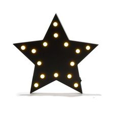 wall Led Decor Star roomates Lighting $9 Kmart. Size: 32.5cm (W) x 31cm (H).