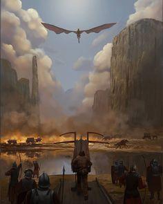 Spoils of war Game Of Thrones Artwork, Game Of Thrones Poster, Game Of Thrones Houses, Game Of Thrones Fans, Got Dragons, Mother Of Dragons, Familia Targaryen, Fantasy Dragon, Fantasy Art