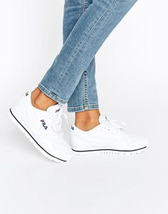 380955576f77 Buy it now. Fila Orbit Low Trainers In White - White. Trainers by Fila