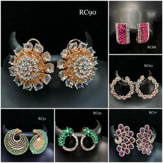 #earrings #zircon #studs #highquality #richlook  #Beautiful #lovely #elegant #festive #wedding #trendy #designer #exclusive #statement #latest #design #ethnic #traditional #modern #indian #divaazfashionjewellery available Grab them fast 😍😍 Inbox for orders & more details plz Or mail at npsales421@gmail.com Festive, Studs, Ethnic, Crochet Earrings, Indian, Traditional, Elegant, Detail, Modern