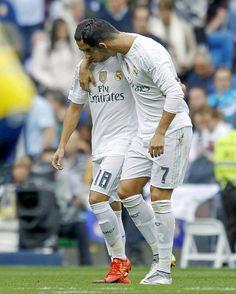 Cristiano Ronaldo & Lucas Vázquez Real Madrid