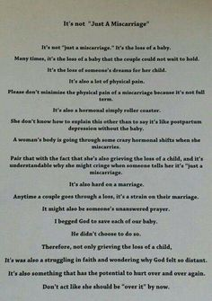 It's not Just Miscarriage Miscarriage Tattoo, Miscarriage Remembrance, Miscarriage Quotes, Miscarriage Awareness, Angel Baby Quotes, Pregnancy Quotes, Pregnancy Stages, Infant Loss Awareness