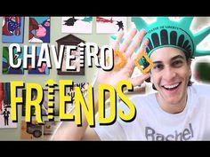 YouTube - DIY Chaveiro Friends