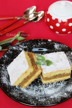 Placinta cu mere - Pasiune pentru bucatarie- Retete culinare Romanian Desserts, Weird Food, Cookie Desserts, Feta, Donuts, Cheesecake, Food And Drink, Pie, Sweets