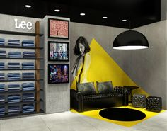VF concept store by Manon Foucraut, via Behance