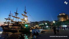 Δημιουργία - Επικοινωνία: Θεσσαλονίκη: ….Μία video...φωτογραφική ματιά στην ... Sailing Ships, Boat, Dinghy, Boats, Ship