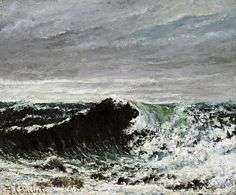 Gustave Courbet's Waves(1866-70)