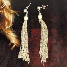 Pretty Fringe Earrings Fringe Earrings, Drop Earrings, Collections, Pretty, Jewelry, Fashion, Moda, Jewlery, Jewerly