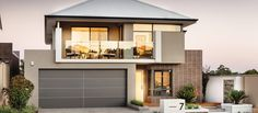 Stunning elevation on apg's latest double storey display home in Waterford, Western Australia.