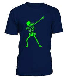 # Dabbing Skeleton Shirt - Halloween .  Get your Halloween party groove on while wearing this awesome ghoul dead skeleton Halloween costume fancy dress character. This fun dabbing All Hallows' Eve clothing & apparel will make everyone jealous! For a loose fit, please order a size up.IMPORTANT: These shirts are only available for a LIMITED TIME, so act fast and order yours now!  TIP: If you buy 2 or more (hint: make a gift for someone or team up) you'll save quite a lot on shipping.…