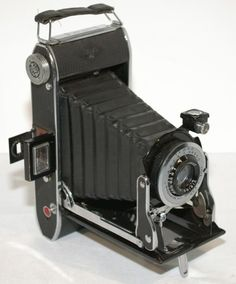 Pre-War 1940s Agfa Ansco PD-16 Viking Anastigmat Folding Bellows Camera