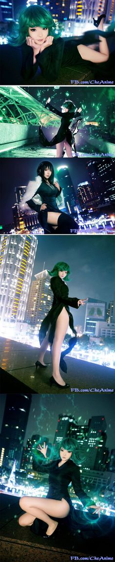 Perfect Tatsumaki and Fubuki cosplay from One Punch Man!