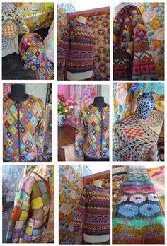 Kaffee Plus Plus Knit Mittens, Knitted Blankets, Crochet Motif, Knit Crochet, Baby Knitting Patterns, Crochet Patterns, Motif Fair Isle, Fair Isle Knitting, Textiles