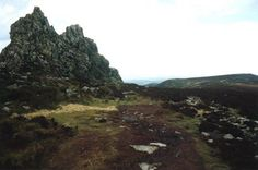 The Devil's Chair, the hill Wild Edric is said to roam whenever England is threatened with invasion.