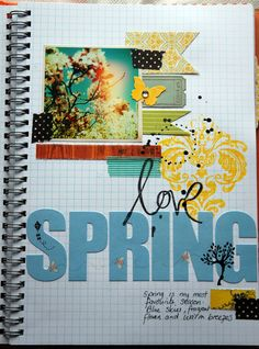 Favorite Season Page..     Do Summer & Fall, but with this simialar layout.. Pic of time of year & Why I LoVe them.. -A