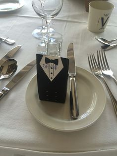 Male wedding favour West Cork Weddings on the Bay at the Maritime Hotel West Cork