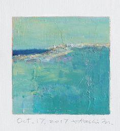 Il s'agit d'une peinture à l'huile abstraite par Hiroshi Matsumoto Titre: 17 octobre 2017 Taille: 9,0 cm x 9,0 cm (environ 4 x 4) Toile taille: 14,0 cm x 14,0 cm (env. 5,5 x 5,5) Technique: Huile sur toile Année: 2017 C'est ma peinture tous les jours appelé tableau de 9 x 9 et le titre est la date que j'ai créé cette peinture. Peinture est livré avec un tapis. Peinture est feutré en écru pour s'adapter à cadre standard 8 pouces x 10 pouces (non inclus) et livré avec le certificat d'a...