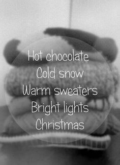 Favorite winter things