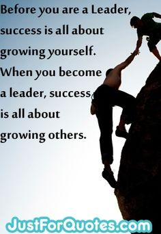 Just one of 27 Leadership Quotes