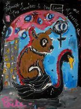 THE JOURNEY Poete Maudit, CANADIAN ARTIST Outsider Art Street Naive RAW