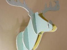 DIY - Comment créer une tête de cerf en carton - par Noces de Coton