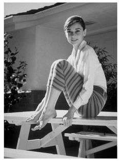 James Dashwood  Audrey in Stripes