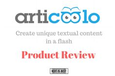 It sounds promising to have automated content but read more to understand how it works | Articoolo automated content review | Next Is Best