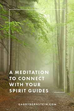 Spirit Guides Meditation Guided Meditation by Gabby Bernstein Guided Meditation, Meditation Benefits, Spiritual Meditation, Meditation Quotes, Chakra Meditation, Meditation Practices, Spiritual Guidance, Meditation Music, Mindfulness Meditation