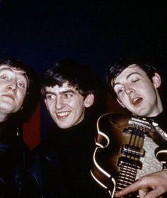 John & George + Paul | via Beatle Love ~ Cityhaüs Design