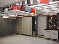overhead garage storage is a wise decision for any home owner so long as it is done correctly find out now some tips and overhead garage storage idea - Garage Shelving Ideas