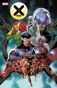 MARVEL COMICS (W) Jonathan Hickman (A) Russell Dauterman, More (CA) Leinil Francis Yu THE HEROES OF KRAKOA DEBUT!It's a changing if the guard as the first X-Men team of Krakoa debuts! One era ends as a new one begins, and the handoff happens here.32 PGS./Rated T+ ~~~~~~~~~~~~~~~~~~~~~~~~~~~~ Don't miss a single issue! Sign up for our subscription program and we'll ship your comics right to your door or desk! Jean Grey, Wolverine, Cyclops, Comic Book Covers, Comic Books, Marvel Comics, Marvel Xmen, Marvel Heroes, Dragon Comic