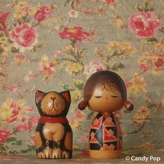 by Candy Pop, via Flickr...kokeshi love.