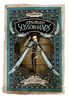 An exclusive supersized Poster by Benjamin Lacombe.Print size: (wide) x (tall) / (wide) x (tall)Signed by Benjamin Lacombe Edition : First print run 500 copies Price: fees : for France, for EU countries, for No-EU countriesShipping time : weeks Art Tim Burton, Tim Burton Films, Eduardo Scissorhands, Illustrations, Illustration Art, John Kenn, Book Cover Art, Book Covers, Pop Surrealism