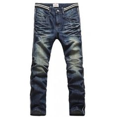Men Spring Autumn New Style Straight Jean Pants As Picture M/L/XL/XXL... ($34) via Polyvore