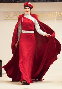 The Islamic Fashion Festival that originated in Malaysia, took place in Cannes,  France 2015