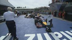 Watch Sebastian Vettel Scare An Old Man In Parc Ferme