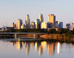 """The Mississippi river was named so by the Indians that once lived on the shores of the waters. They named it """"Messipi"""", or Big River. The Places Youll Go, Great Places, Places Ive Been, Places To Go, Beautiful Places, Need A Vacation, Vacation Spots, Vacation Memories, Minneapolis Skyline"""