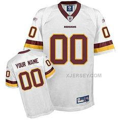 http://www.xjersey.com/washington-redskins-men-customized-white-jersey.html WASHINGTON REDSKINS MEN CUSTOMIZED WHITE JERSEY Only $75.00 , Free Shipping!
