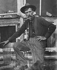 Lansford Whiting Ingalls, born Nov. 12, 1812 in Quebec, Canada. Photo shows him at age 50. Father of Charles P. Ingalls; grandfather of Laura Ingalls Wilder.