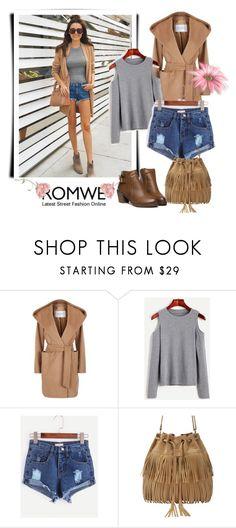 """Romwe 10/VII"" by nermina-okanovic ❤ liked on Polyvore featuring MaxMara and romwe"