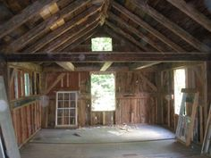 i want and old barn or house like this oh the stuff you could make