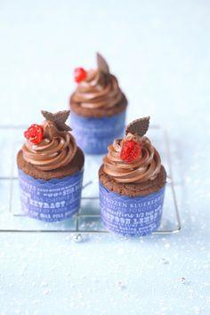 Verdade de sabor: petits gâteaux au chocolat cerises / petits gâteaux de chocolat e cereja