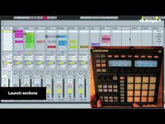 Using Ableton Live w/ Native Instruments' Maschine for Production & Performance