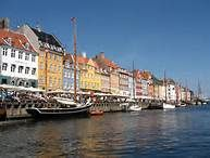 Nyhavn Copenhagan Came here for drinks at night and for lunch the next day, then took the canal tour.