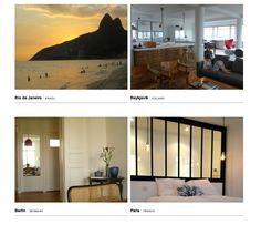 Behomm is the first worldwide home exchange website for designers and visual artists only.