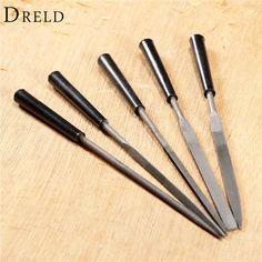 5 Carving Tips Bois Couteau à découper Flexible Flex Shaft electric chisel
