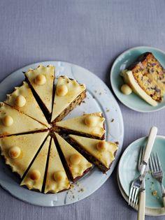 Whisky Simnel Cake   Jamie Oliver