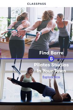The best fitness studios, classes and experiences are on ClassPass. Work out where you want, when you want, and how you want, with one membership. Treadmill Workouts, Pilates Workout, Fun Workouts, Pilates Fitness, Fitness Fun, Mental Health Day, Pilates Studio, Workout For Beginners, Workout Challenge
